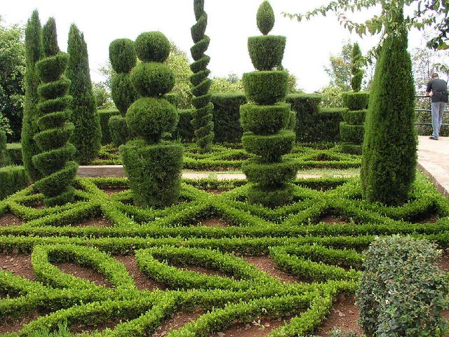 Topiary botanical garden of funchal madeira portugal for Topiary garden designs