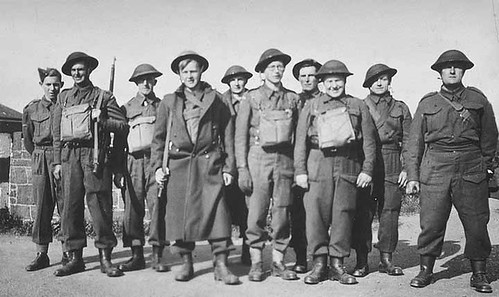 Haddington Home Guard, WW2 | by east_lothian_museums