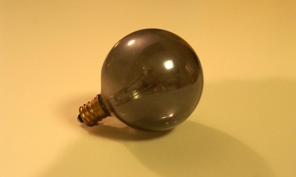 Light Bulb 3 A Light Bulb Burned Out In My Bathroom And