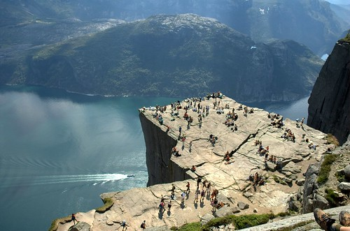 Looking down on Pulpit Rock | by Today is a good day