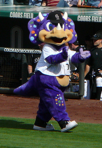 Dinger, Colorado Rockies mascot | by Paul L Dineen