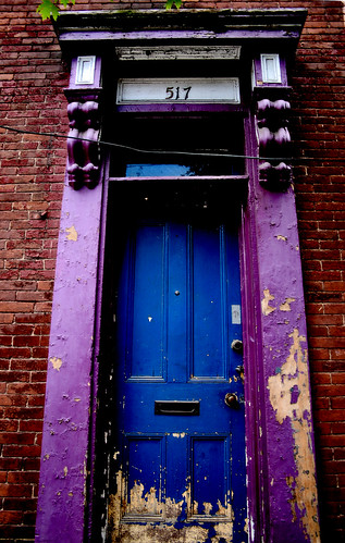 Purple Doorway / Blue Door | by Marc_714