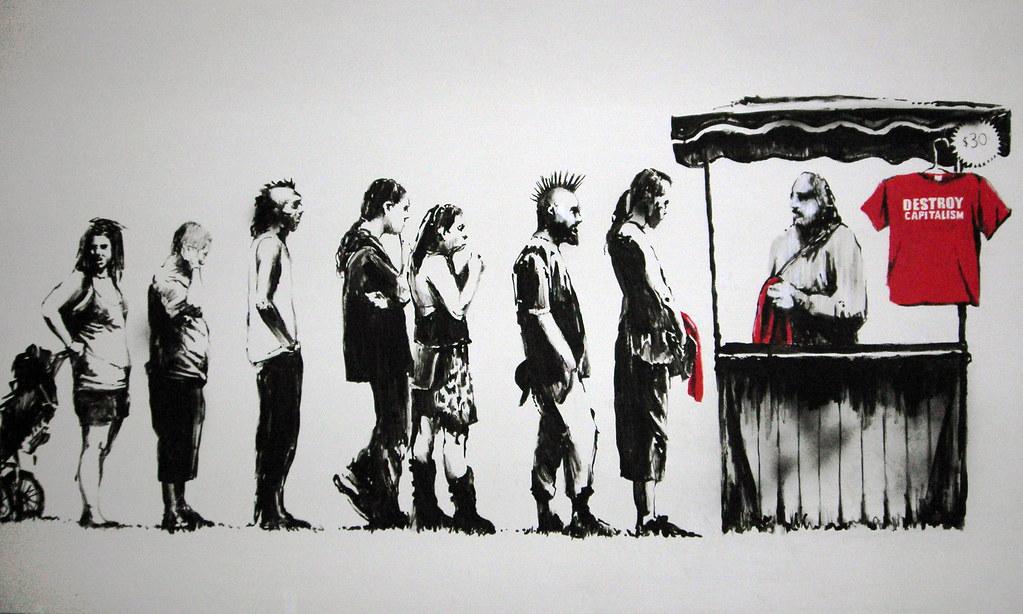 destory capitalism® | by robotson