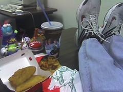 Sl lunch from jack in the box mmmm fish curly chips for Jack in the box fish