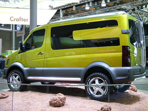 Vw Crafter Atacama From The Press Info Concept Vehicle