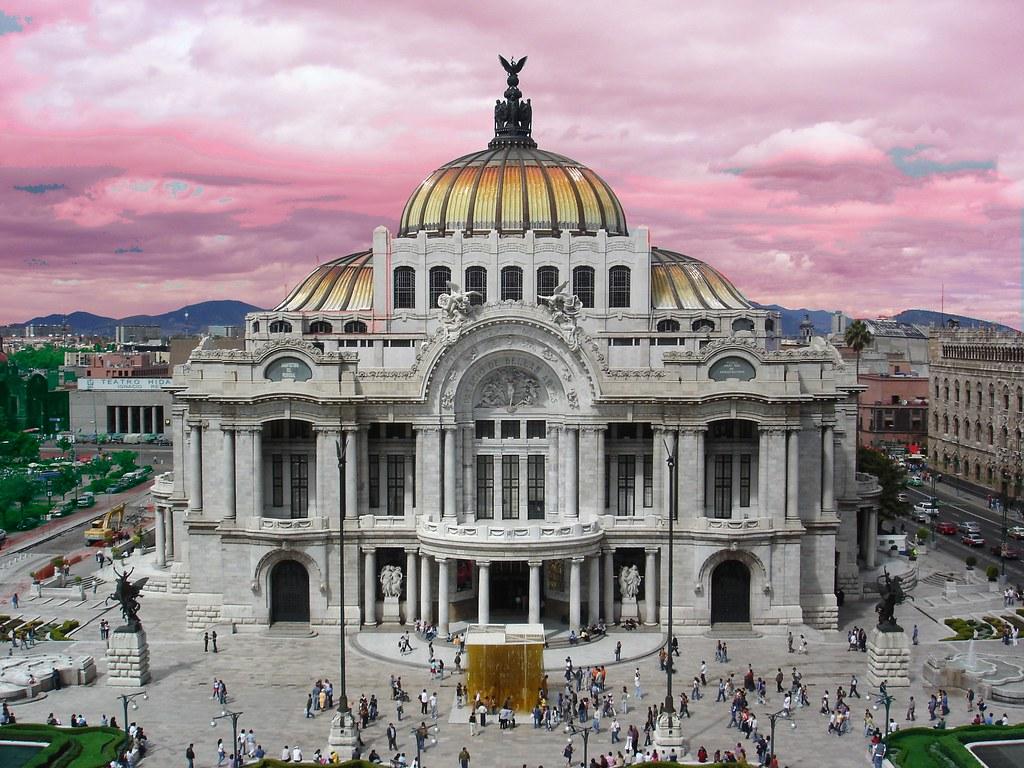 Careaga mexico city palace of fine arts una perspectiva