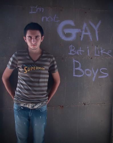 Like gay boys not gay men
