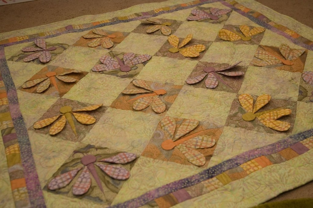 Dragonfly Quilt Made By My Mother In Law Sue Pack