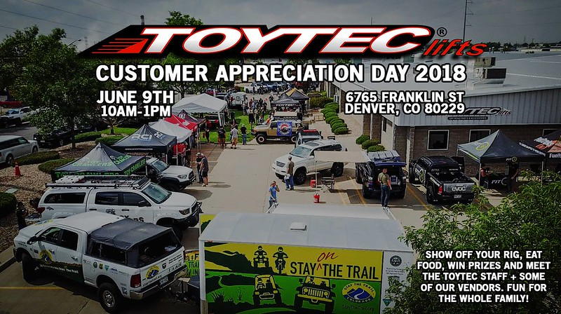 Toytec customer appreciation 2018