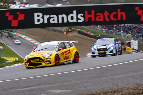 Tom Chilton, Ford Focus RS, British Touring Car Championship, Brands Hatch Indy 2018