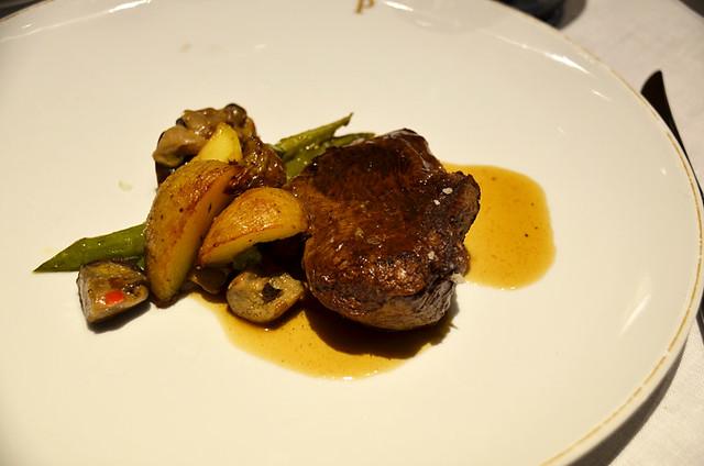 Steak, Parador, Santiago de Compostela, Galicia