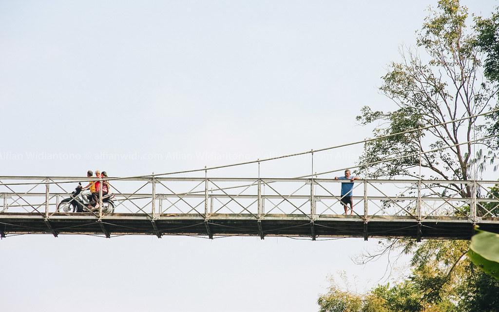 Jembatan Duwet, Sang Titian Berbalut Sejarah Dan Wisata.