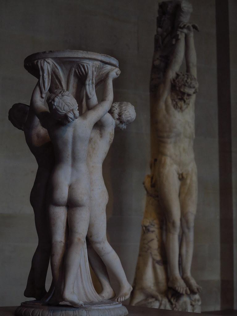 Musee Du Louvre Antiquites Grecques Marsyas Supplicieier Flickr