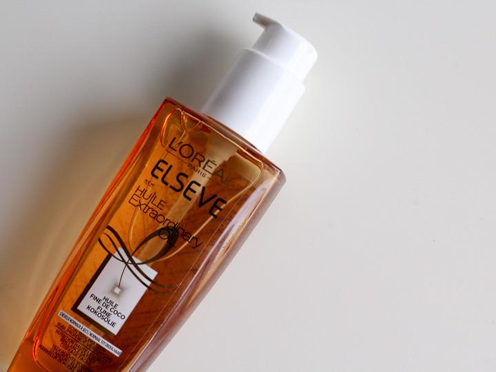Multifunctionele verzorging voor je haar met de Elsève Extraordinary Coco Oil