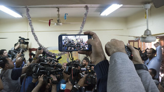 Filming the reporters on iPhone in Egypt's presidential elections 2018 | by Kodak Agfa