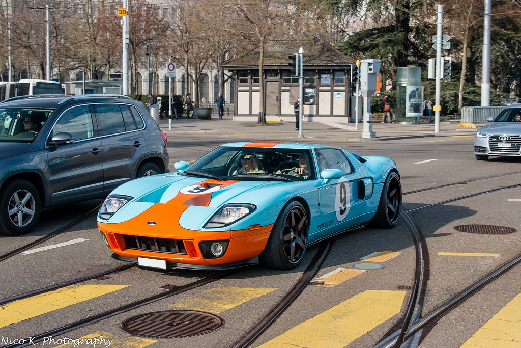 Ford Gt Heritage Edition By Nico K Photography