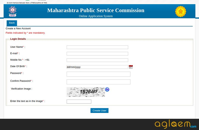 MPSC Agriculture Service (Main) Exam Application Form 2018