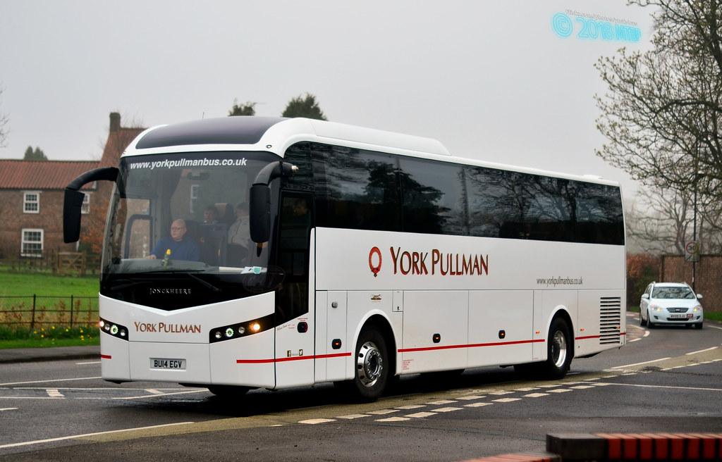 *Exclusive* BU14EGV (LSK611) York Pullman Bus Company | Flickr