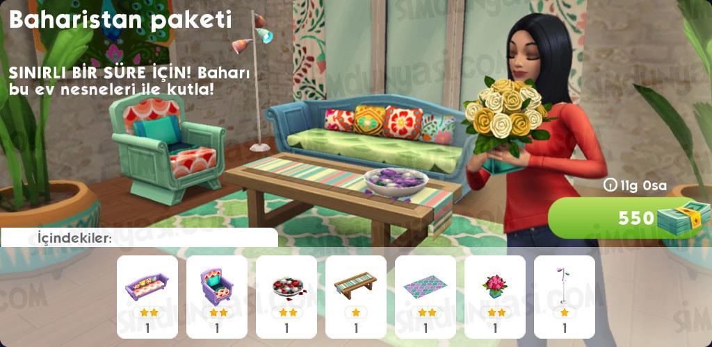 The Sims Mobile 28 Mart 2018 Güncellemesi Pofidik Tavşancık Etkinliği İlkbahar Yumurta Avı Serüveni