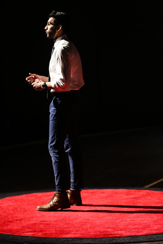 Faiz Saulat @ TEDxUGA 2018: Connect | by New Media Institute