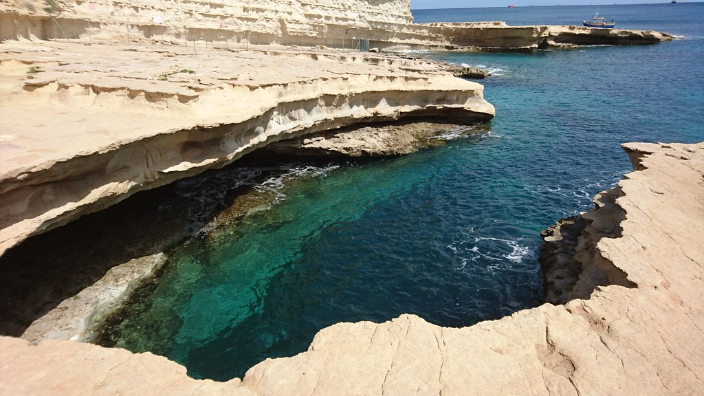 Image result for st peters pool malta