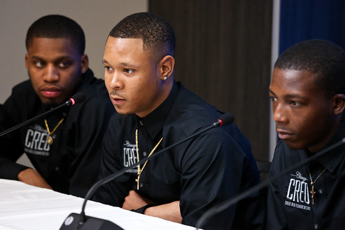 Young men from Chicago talk about their communities and how the program Chicago CRED has impacted their lives. | by BrookingsInst