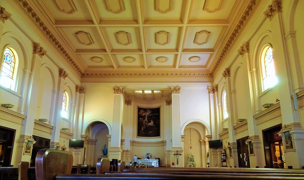 the italian renaissance style interior of our lady of victories catholic church it - Italian Renaissance Interior Design