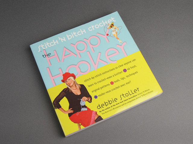 Pre-owned book: Stitch 'n Bitch Crochet: The Happy Hooker by Debbie Stoller