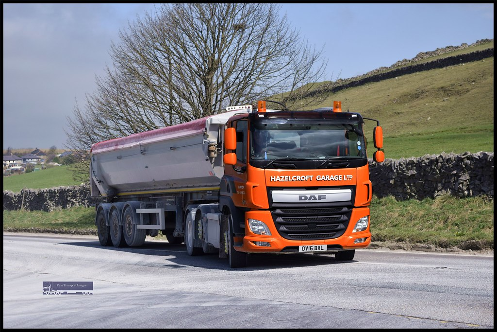 Daf cf hazelcroft garage ltd stevejeffssonswift flickr for Garage daf tours