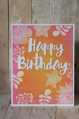 Oxide Floral Birthday by kcscrpbkr (Karen L K)