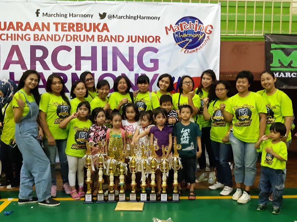 Meraih 9 Kategori Kejuaraan Dalam Lomba Drumband Tingkat Taman Kanak-Kanak
