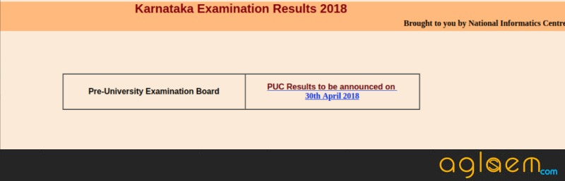 Karnataka 2nd PUC Result 2018 Date [DATE CONFIRMED ]