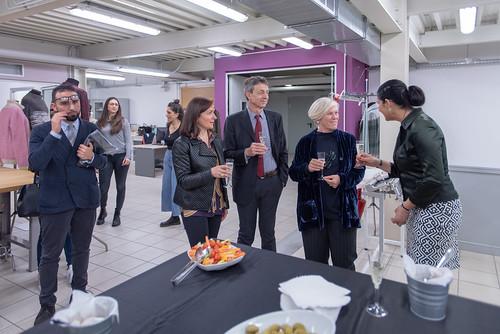 Inaugurazione lab moda knit 2 milano 2 maggio 2018 for Politecnico di milano design della moda