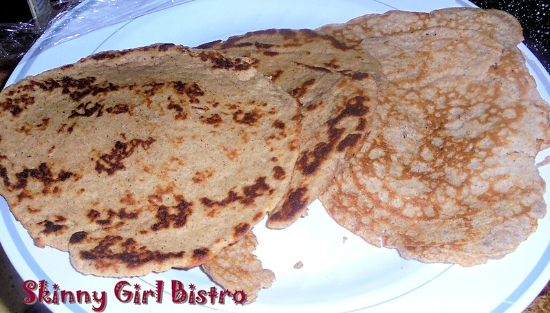 Photo: almond flour pancakes and cinnamon tortillas