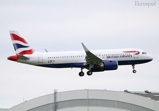 F-WWBY Airbus A320 Neo British Airways | by @Eurospot