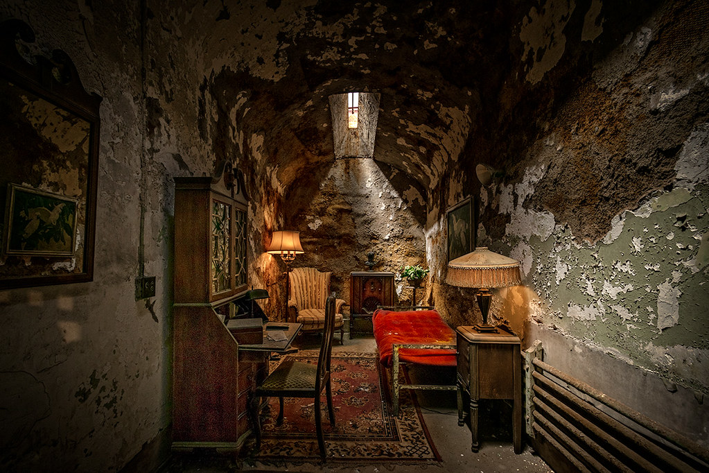 Al Capone's cell, Eastern State Penitentiary