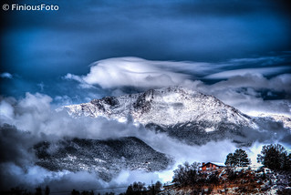 Pikes Peak After Spring Snow | by Finious Foto
