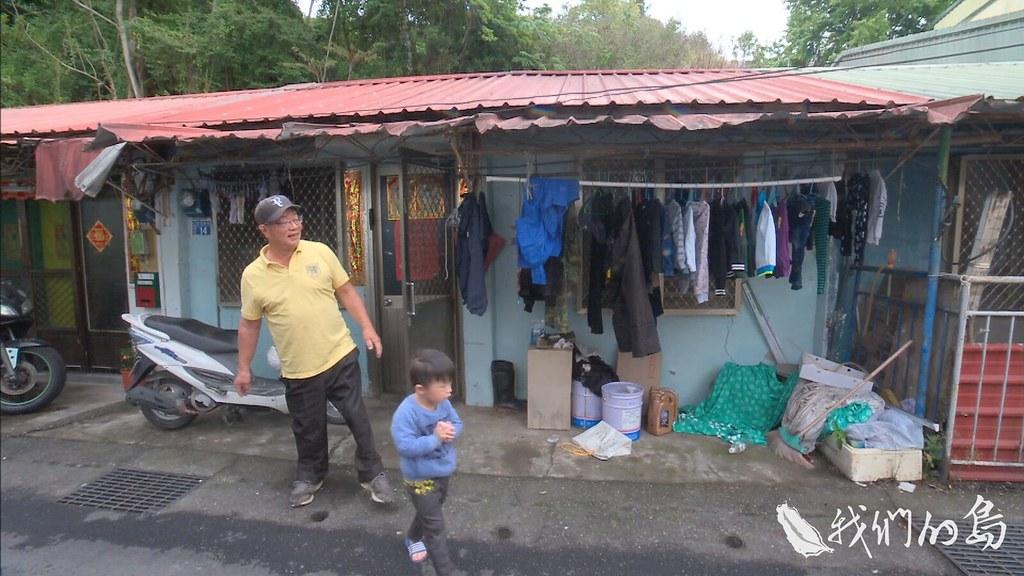 954-2-10S因為禁限建,年久失修的房子,村子裡有好幾棟,住在這裡的是滇緬義胞的後代。