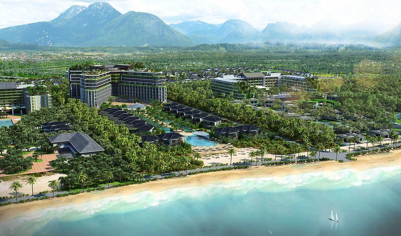 Phối cảnh dự án Sonasea Phú Quốc