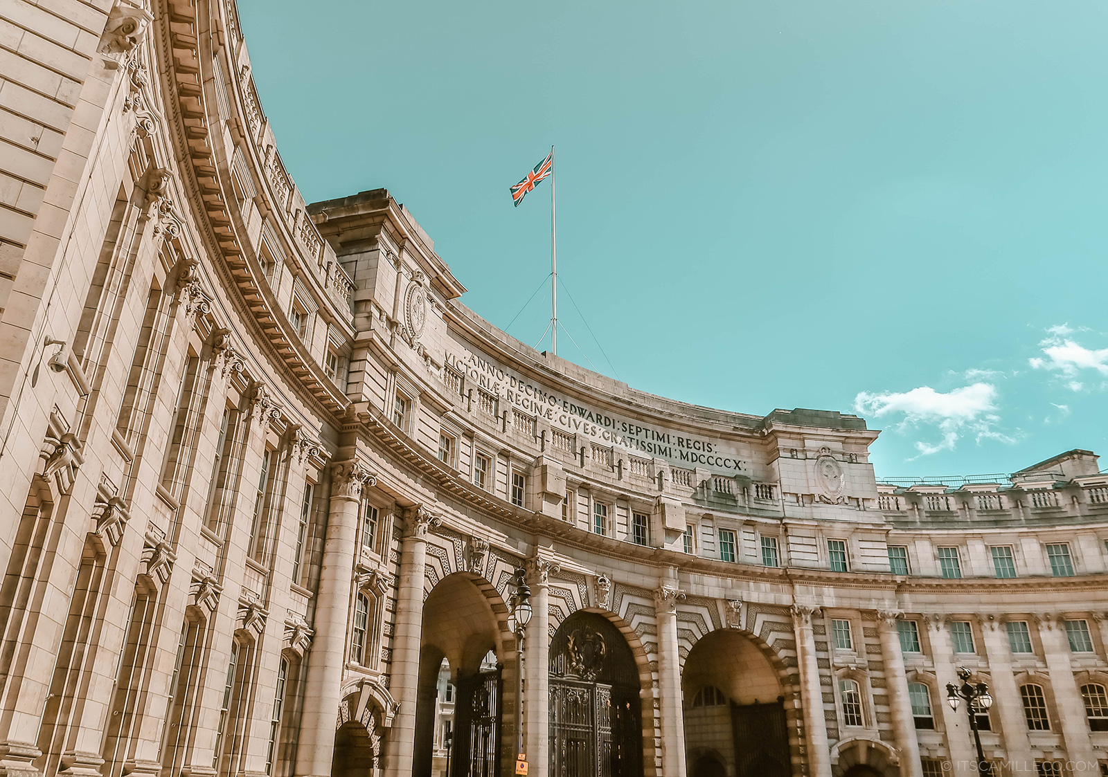 London Itinerary - Camille Co