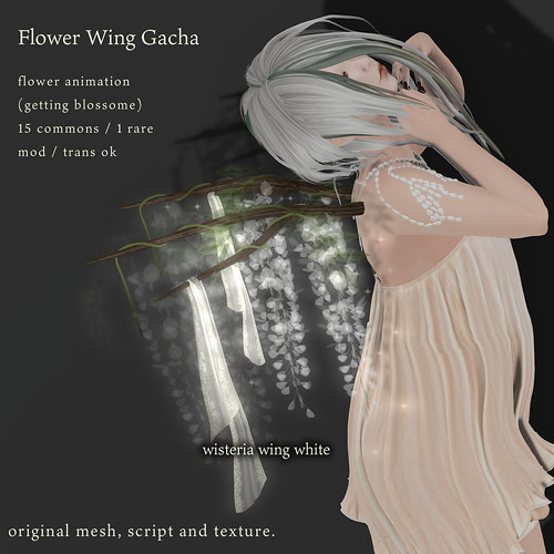 *NAMINOKE*Flower Wing Gacha | by taiko McCaw