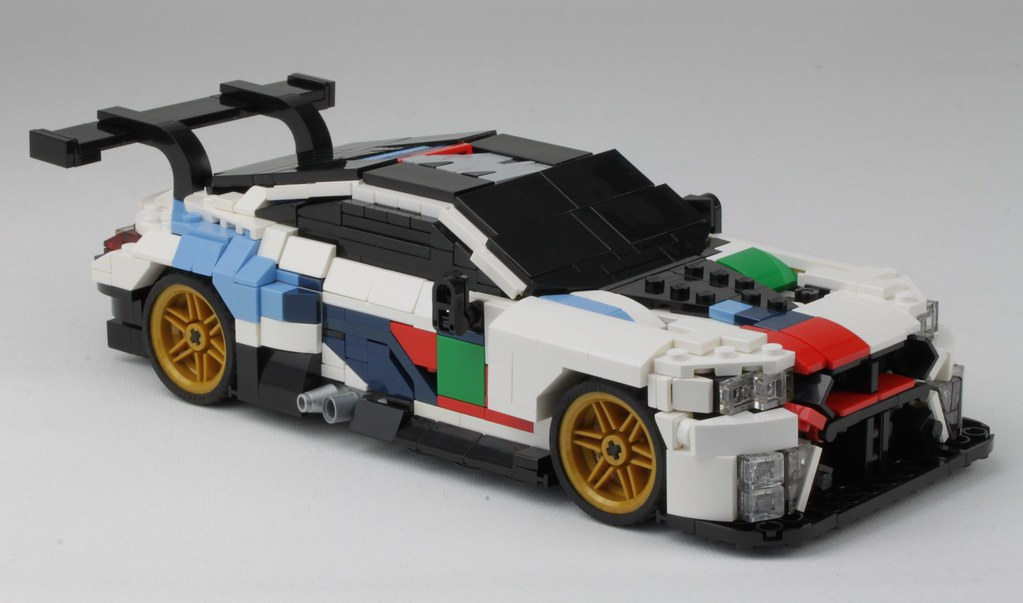 Lego Bmw M8 Gte In Scale 1 20 First Prototype Of My Bmw M8 Flickr
