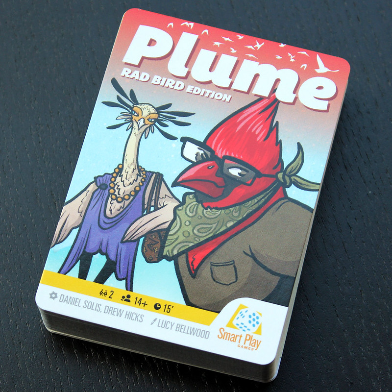 Cover card of Plume Rad Birds Edition
