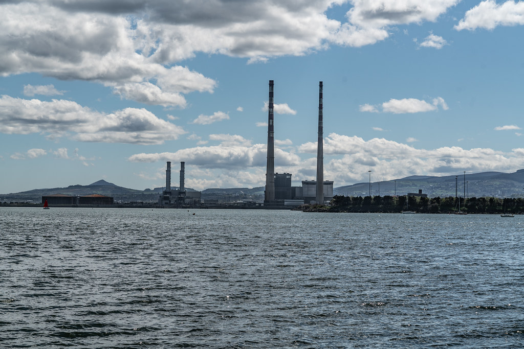 THE POOLBEG STACKS AS SEEN FROM CLONTARF 001
