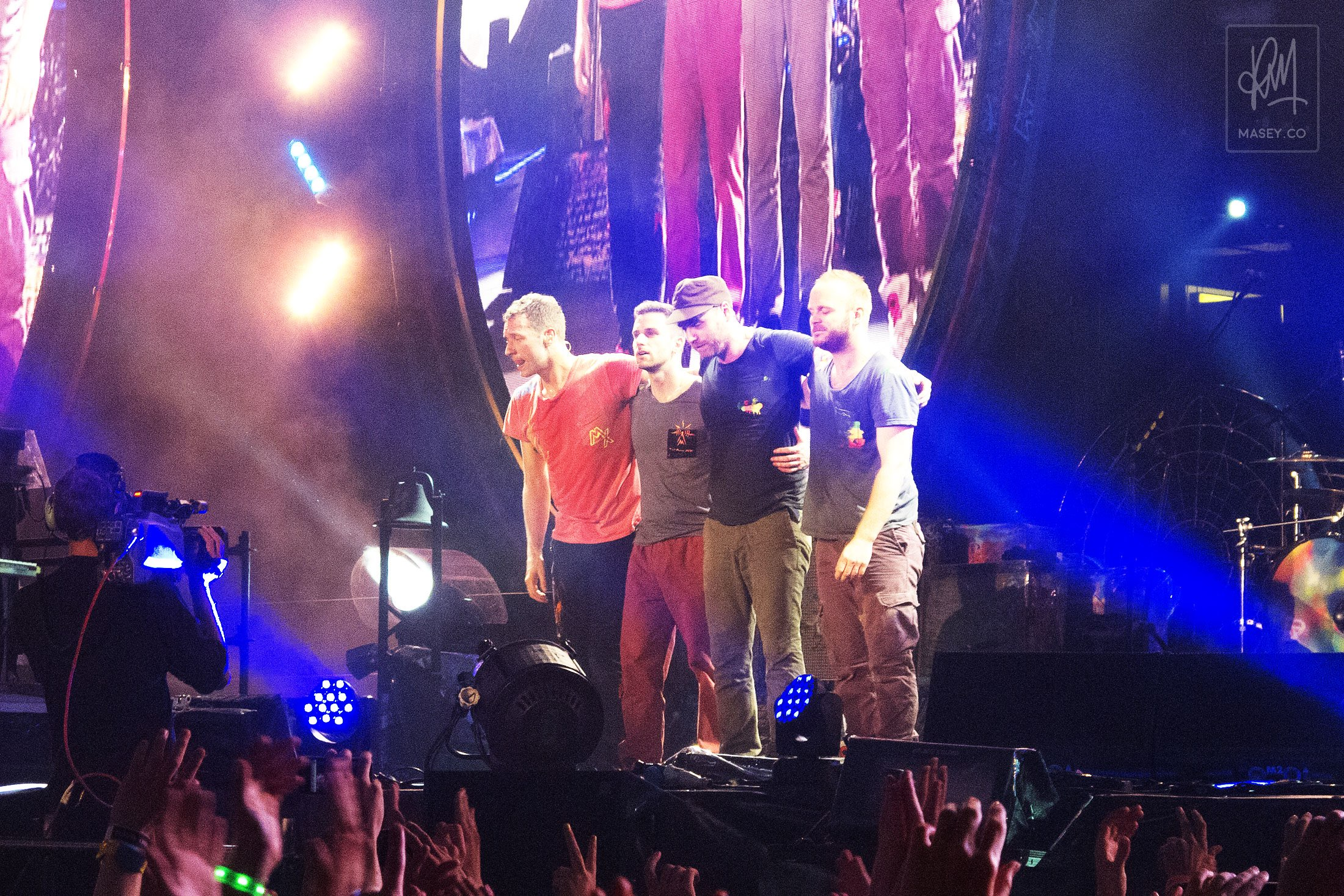 Coldplay play Suncorp Stadium, Brisbane
