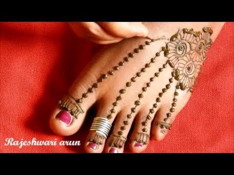 Beautiful Feet Henna Mehndi Designs 2018 Simple Latest M Flickr