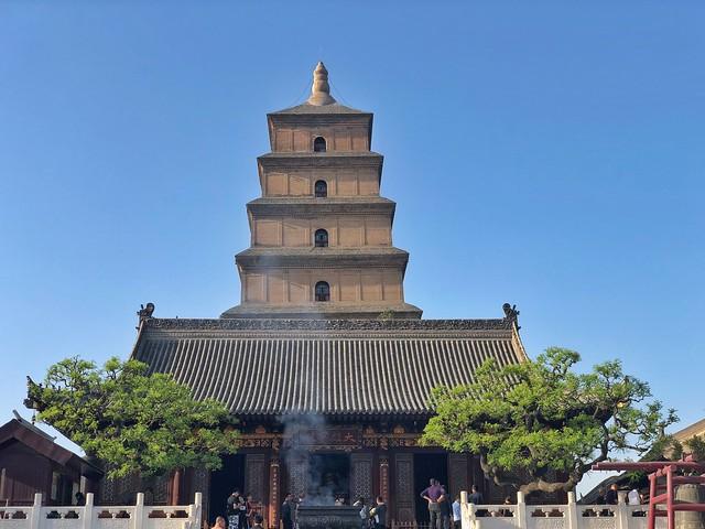 Gran pagoda de la oca salvaje (Xi'an, China)