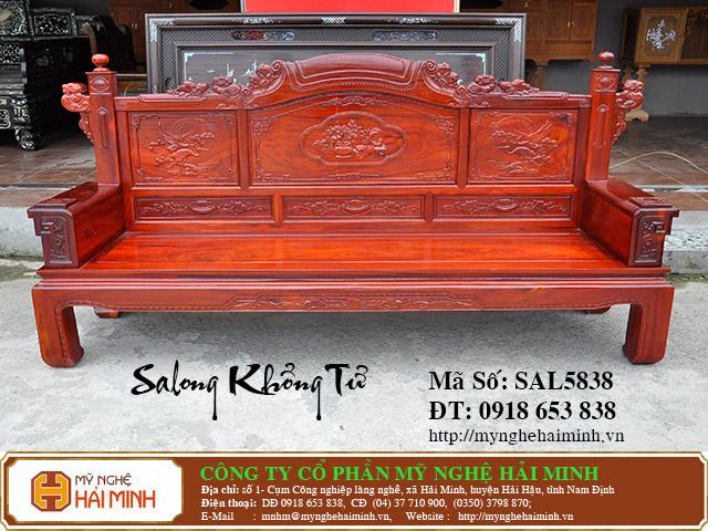 SAL5838c Salong Khong Minh do go my nghe hai minh