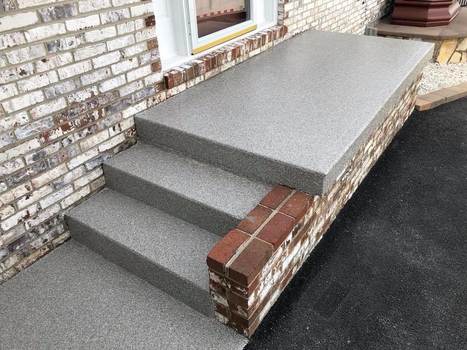 ... GraniFlex Patio  Harrisonburg Epoxy Flooring  Harrisonburg, VA   By  Decorative Concrete Kingdom