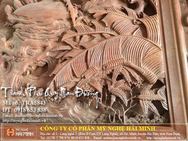 Tranh go Phu Quy Man Duong do go mynghehaiminh TRA5843d